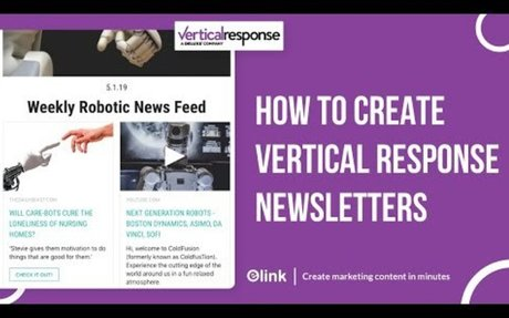 How to Create Vertical Response Email Newsletters in Minutes