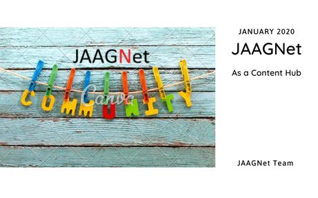 JAAGNet Content Hub
