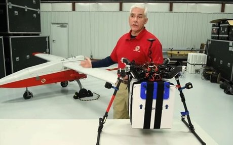 Life-saving kidney delivered by drone