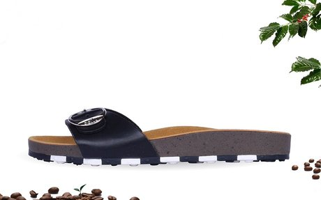 These New Ccilu Sandals Are Made Out of Recycled Coffee Grounds