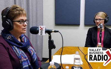 Charitable Giving: Jeri Royce, Gail Baer, Andrea L. Claus | Valley Business Radio