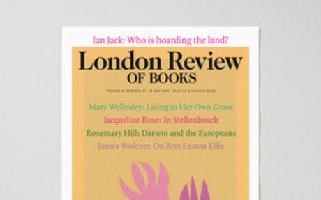 LRB · Mary Wellesley · This place is pryson: Living in Her Own Grave