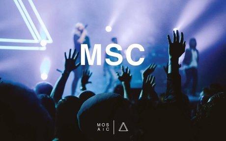 MOSAIC MSC- Through It All (Live Audio)
