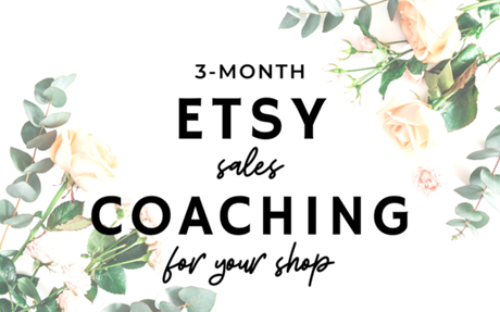 3 Month Etsy Coaching Package