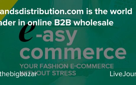 Brandsdistribution.com is the world leader in online B2B wholesale