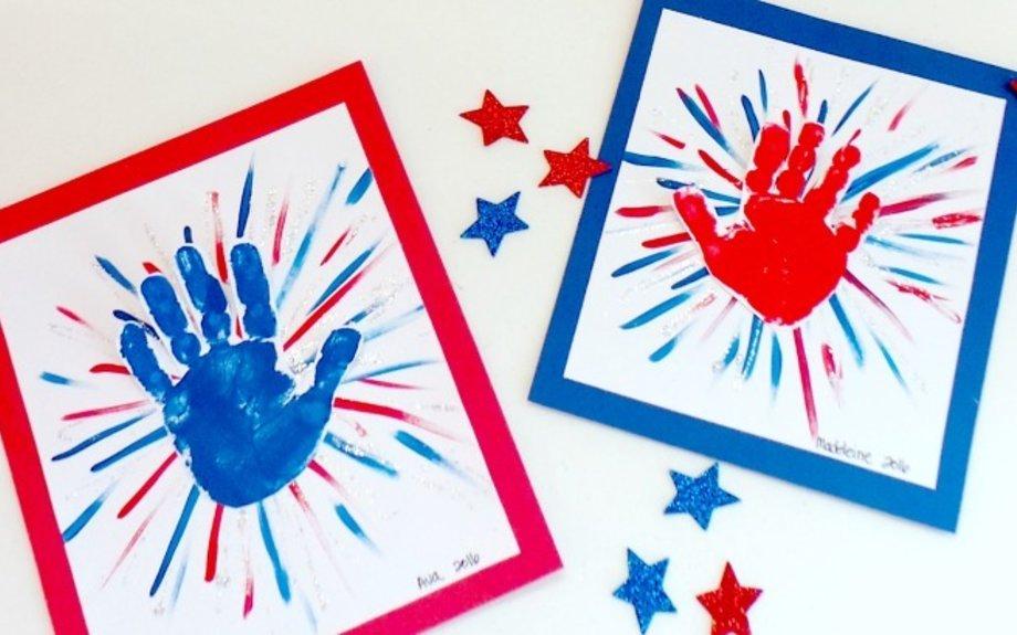 Handprint Fireworks