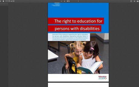 The right to education for persons with disabilities - UNESCO 2019