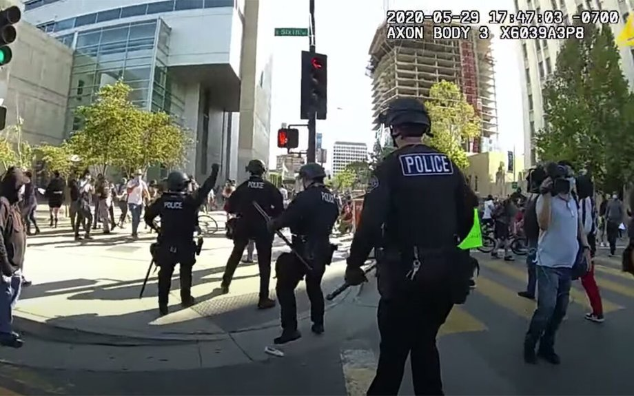 San Jose police release body cam videos shot during George Floyd protests