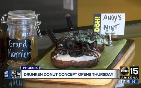 Boozy doughnuts? Where to get them in the Valley