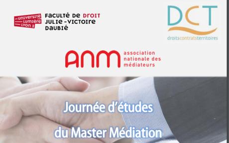 Journée d'études du Master Médiation 2 ème  édition :  «La justice restaurative» Université Lyon II, 22/05/2019