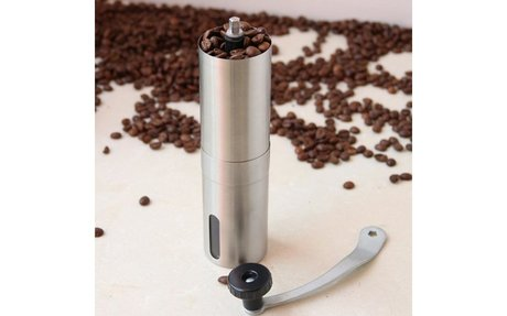 Get 10% Discount on this quality Handheld Coffee Bean Grinder