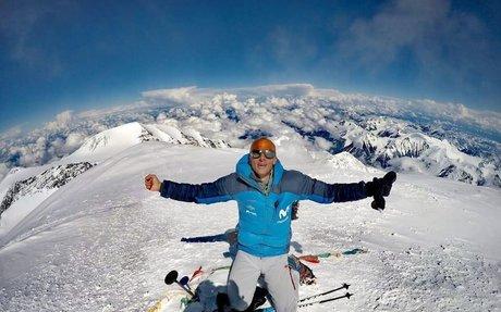 Karl Egloff establece un nuevo récord en el Denali, Alaska - Desnivel.com