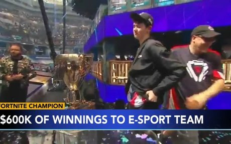 Teen won't get entire amount of Fortnite World Cup winnings
