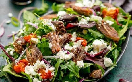 Crispy Lamb Salad