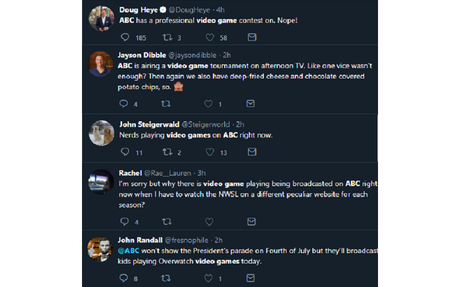 People Are Really Upset that ESPN2 is Airing Esports