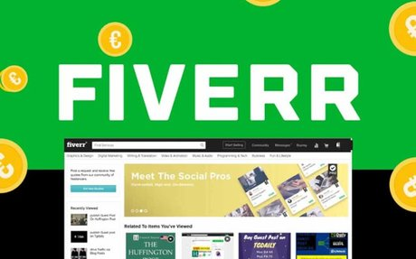 Use Fiverr to easily hire freelancers for your projects