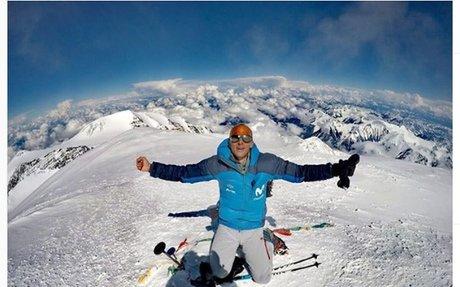 Ecuadorian climber breaks Denali speed record — on snowshoes
