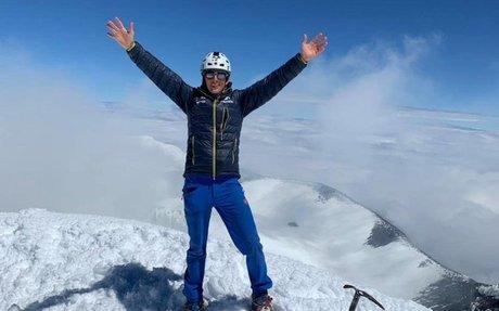 Montañista ecuatoriano batió un récord mundial en EE.UU.