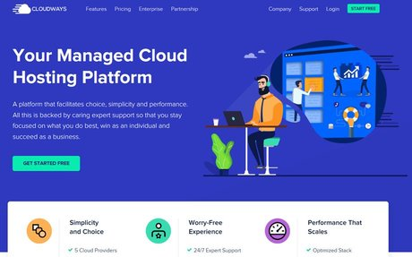 Cloudways Managed, Fast and Secure Cloud Hosting for your Growing Business. by The Grea...
