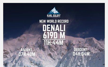 Record sul Denali per Karl Egloff