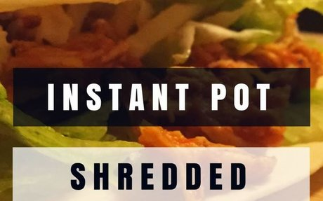 Instant Pot Shredded Chicken Tacos Recipe | Yummly