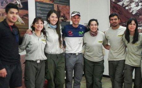 Ecuador va por la gloria en la pared Sur del Aconcagua