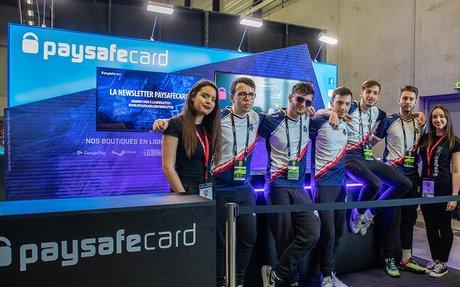 G2 Esports extends partnership with paysafecard