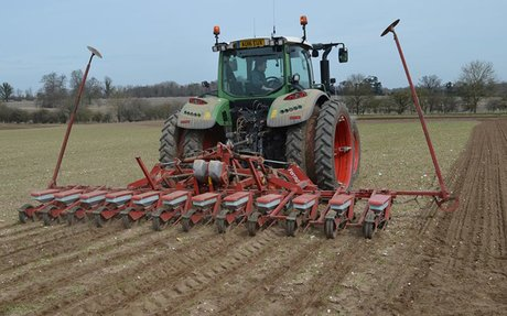 Two-thirds of sugar beet drilled as weather turns drier