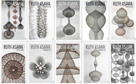 Ruth Asawa Artworks Grace New US Postage Stamps