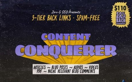 I will do quality content off page SEO with 3 tier back links | Fourerr