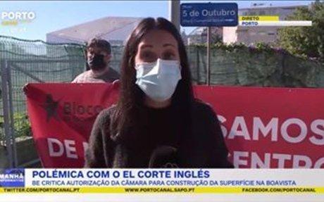 """Aprovação de El Corte Inglés é """"erro político e urbanístico"""""""
