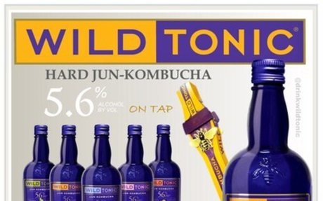 Wild Tonic's Hard Jun Kombucha Taps into the Heart of UNLV Fans