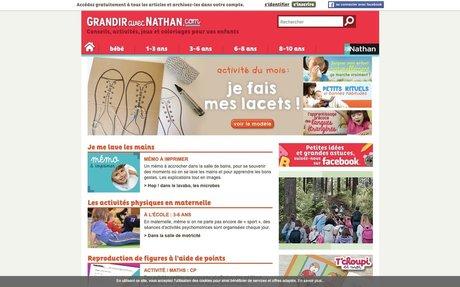 Grandir avec Nathan - Le site des spécialistes de l'éducation