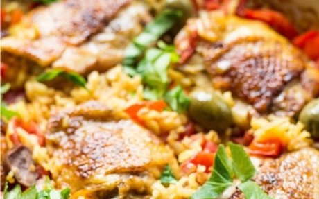 Spanish Chicken And Rice (Best Arroz Con Pollo)