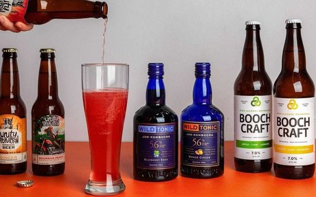 Is boozy kombucha good for you? It's getting so popular it might not matter.
