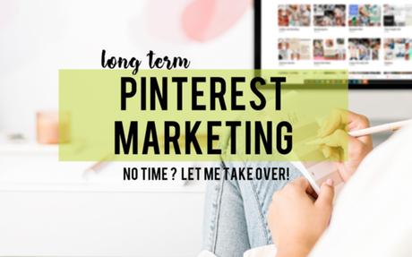 Long Term Pinterest Marketing (3 months)