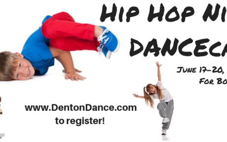 Hip Hop Ninja DANCEcamp - REGISTER BY MAY 15TH TO RECEIVE HALF OFF T-SHIRT!