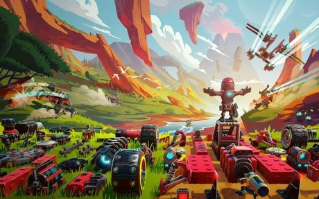 Trailmakers, a Sandbox Vehicle Build-'Em-Up, Crosses the Finish Line on PS4 Today