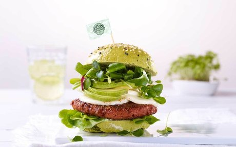 The Green Mountain Burger - Pädi's Favorite