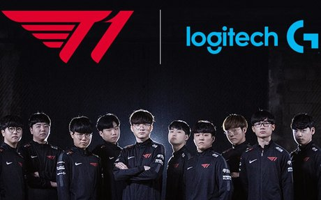 T1 finds gaming gear partner in Logitech G