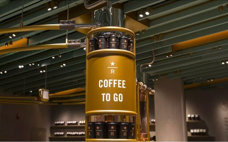 BRAND HIGHLIGHT // World's Largest Starbucks, A Monument To The Coffee Chain's Brand