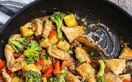 One Pan Pineapple Chicken Teriyaki {Whole 30} | Shuangy's Kitchen Sink