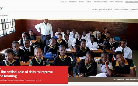 Rethinking the critical role of data to improve teaching and learning