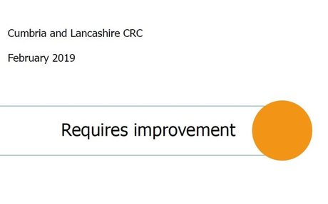 Cumbria/Lancs private probation performing poorly