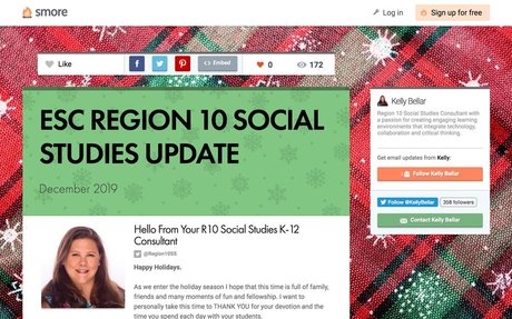 ESC REGION 10 SOCIAL STUDIES UPDATE