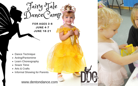 Register Before May 15th & Get Half Off Your DANCEcamp Tshirt!