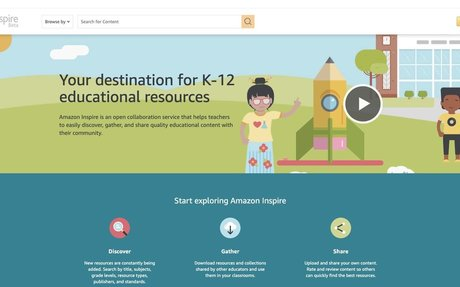 Amazon Inspire: Educational resources for teachers, created by teachers, school distric...