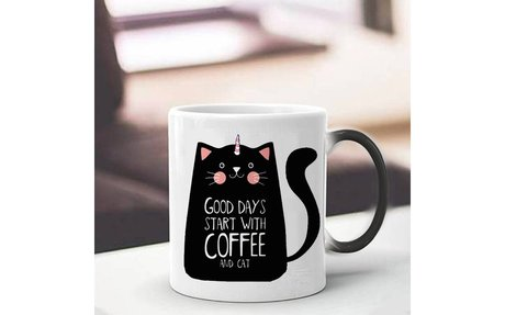 Get a further 10% Discount on this Cute Cat Magic Mug