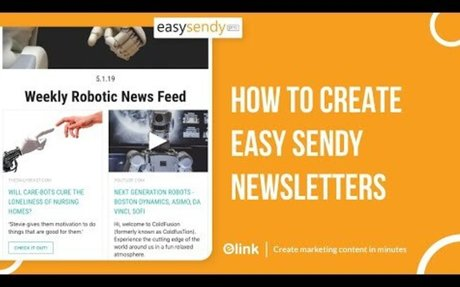 How to Create EasySendy Email Newsletters in Minutes