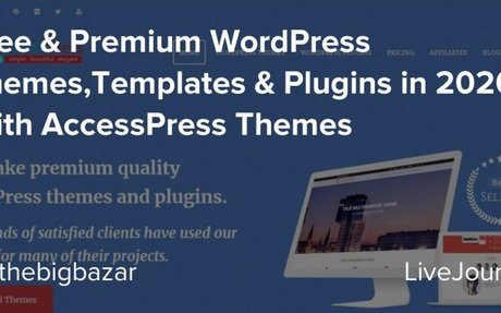 Free & Premium WordPress Themes,Templates & Plugins in 2020 With AccessPress Themes